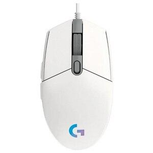 Image 3 - الأصلي لوجيتك G102 لايت سينك/PRODIGY G203 الألعاب ماوس بصري 8000 ديسيبل متوحد الخواص 16.8 متر اللون تخصيص 6 أزرار السلكية أبيض أسود