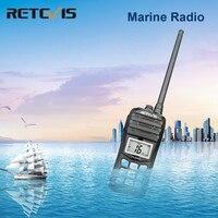 מכשיר הקשר RETEVIS RT55 מקצועי VHF Marine רדיו Float מכשיר הקשר Waterproof דו כיוונית רדיו VHF ימית 5W התראה רדיו NOAA מזג (1)