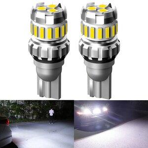 2pcs W16W T15 LED Canbus Error Free LED Bulb Car Reverse Light for Hyundai I30 Ix35 I20 Solaris Creta Santa fe Tucson 2019 2018(China)