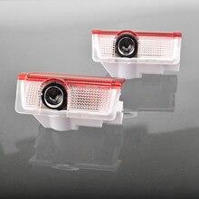 2 pçs led porta do carro cortesia luz projetor para mercedes benz a b c e gl m ml classe w176 w177 w246 w205 w212 w213 w166 x166 lâmpada