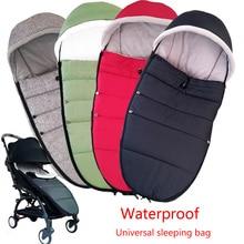 Universal Baby Stroller Sleep Bag Windproof Winter Socks For Yoya Yoyo Stroller Warm Footmuff Cover Baby Stroller Accessories