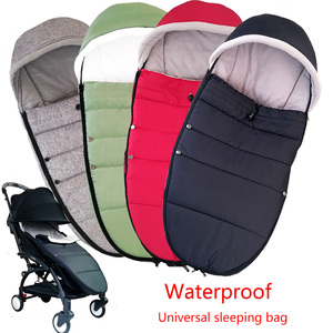 Image 1 - Universal Baby Stroller Sleep Bag Windproof Winter Socks For Yoya Yoyo Stroller Warm Footmuff Cover Baby Stroller Accessories