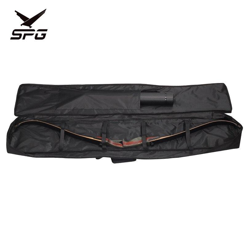 Alongar arco recurvo mochila mochila para arco tradicional arco reto tiro com arco caça