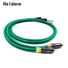 Haldane Pair WBT-0144 RCA to XLR Balacned Audio Cable RCA Male to XLR Male Interconnect Cable with MCINTOSH USA-Cable haldane pair wbt 0144 rca to xlr male to male balacned audio interconnect cable xlr to rca cable with cardas clear light usa