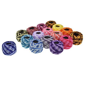 16 цветов вышивка крестом нить вышивка нить для шитья сделай сам ручная вязка патч нить швейные принадлежности