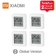 Mi Mijia – thermomètre et hygromètre sans fil Bluetooth 2, Version globale, capteur numérique, écran LCD 1.5 pouces, liaison intelligente