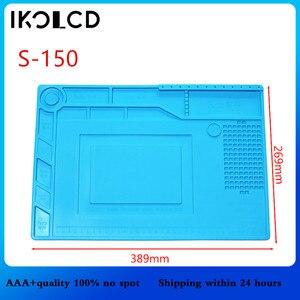 Image 5 - Isı yalıtımlı silikon yastık sümen bakım platformu tornavida cep telefonu için pc bilgisayar BGA lehimleme onarım aracı