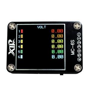Image 4 - MC 6S 1 6S Lipo pil voltaj denetleyicisi alıcı sinyal test cihazı kontrol S Bus PPM PWM ve DSM uydular alıcı