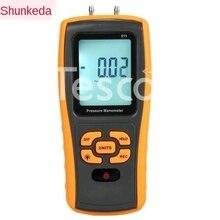 Digital pressure gauge handheld differential pressure gauge