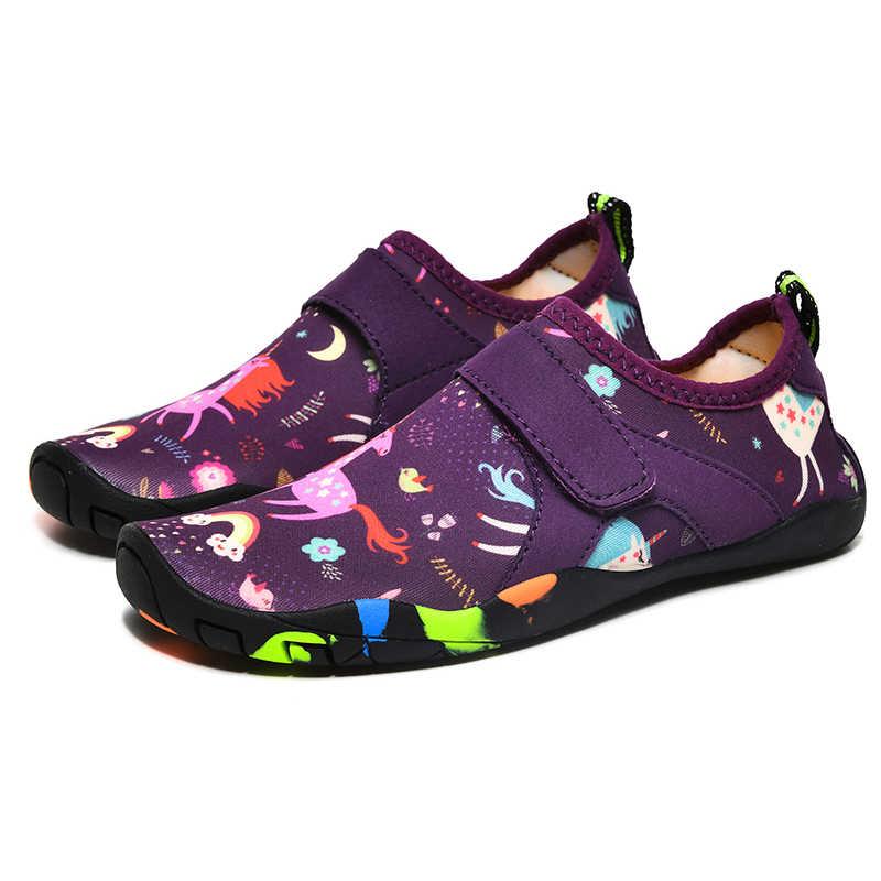 Kids Children Boys Water Shoes Aqua Barefoot Socks Beach Boy Girl Child  Waterschoenen Kinderen Swimming Chaussure Plage Enfant Upstream Shoes  -  AliExpress