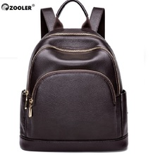 2019 new High quality ZOOLER brand Genuine leather backpack cow backpacks large capacity luxury travel tote bag#HH200
