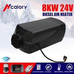 HCalory 12 V/24 V 8000W LCD interruptor desengrasante arnés de cables máquina partida aparcamiento calentador coche barco autocaravana, remolque camión