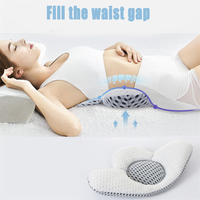 Buckwheat Lumbar Support Sleep Pillow 1