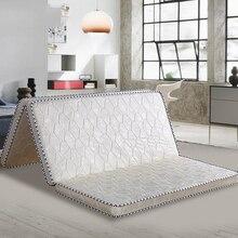 VESCOVO dessus de matelas dur de massage, en coco naturel, pour lit simple ou double, taille queen