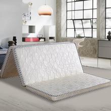 VESCOVO السرير تدليك فراش توبر فراش الثابت الطبيعي جوز الهند وسادة فراش ل حجم واحد مزدوج الملكة