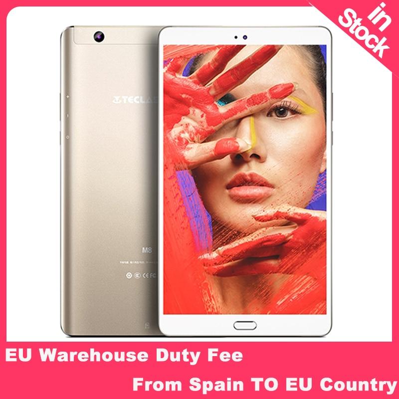 Teclast M8 8.4 Inch Android Tablet  2560x1600 Quad Core 4K Video G-Sensor Tablets 3GB RAM 32GB ROM Wifi  Dual Camera