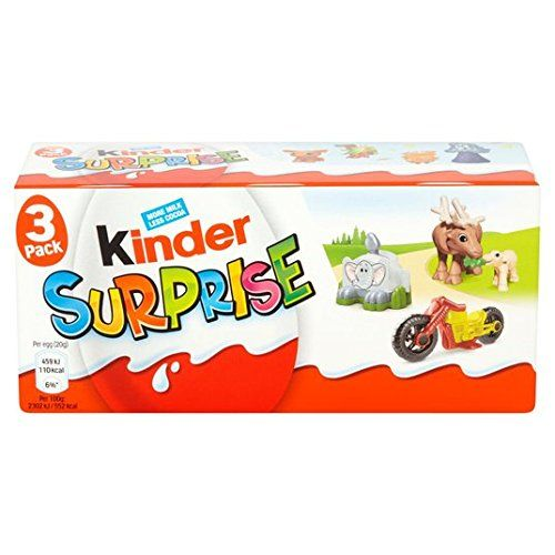 Kinder Surprise Eggs 3 Per Pack