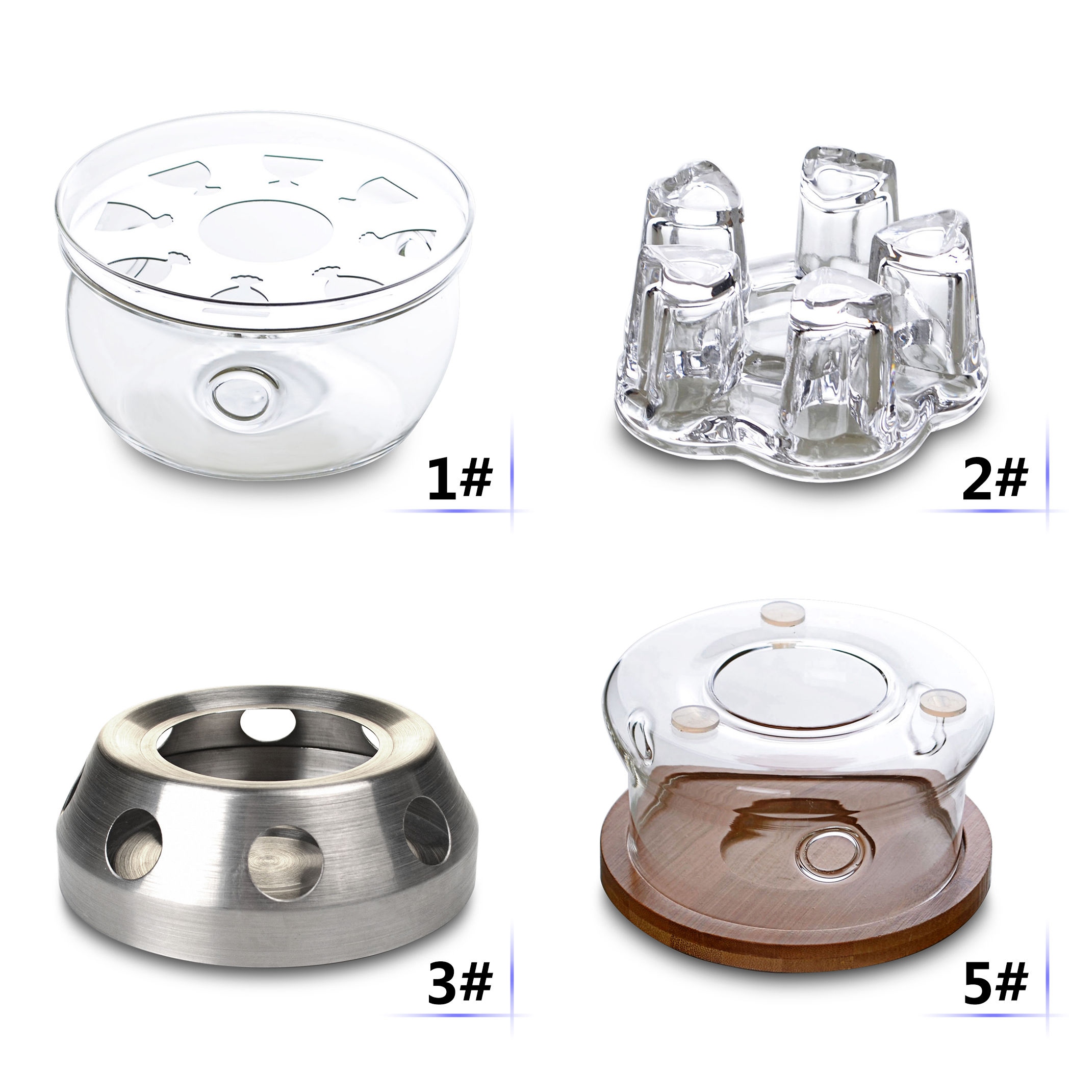 Kinds Creative Tea Pot Warmers Heaters Foundation For Teapots Work W/ Tealight