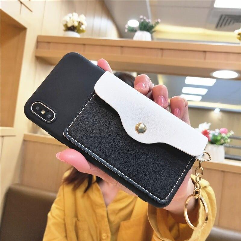 """Конверт Карты Карманный Чехол-бумажник для iPhone 11 Pro Max 6 6S 7 8 Plus SE 2020 X XR XS Max кожаный чехол для телефона с принтом """"удароустойчивая"""