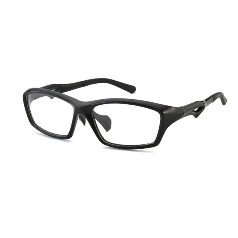 Sports Glasses Square Frame Men Optical Myopia Eyeglasses Eye Glasses Clear Lens Men Prescription Eyewear For Running Fishing