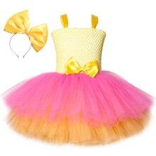 女の子笑チュチュドレスかわいい王女の漫画の人形の誕生日パーティードレス子供のためのガールクリスマスハロウィン笑コスプレ衣装