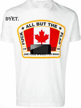 DSQ Men's All About The Flag T-Shirt White Tops Male Female Unisex Size: S-5XL(China)