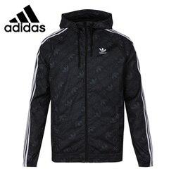 Original New Arrival  Adidas Originals MONO WINDBREAK Men's jacket Hooded  Sportswear