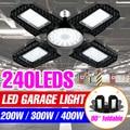 Гараж светильник светодиодный E27 лампы Супер яркий светодиодный светильник 85-265 в Точечный светильник деформируемая игрушка подвесной свет...
