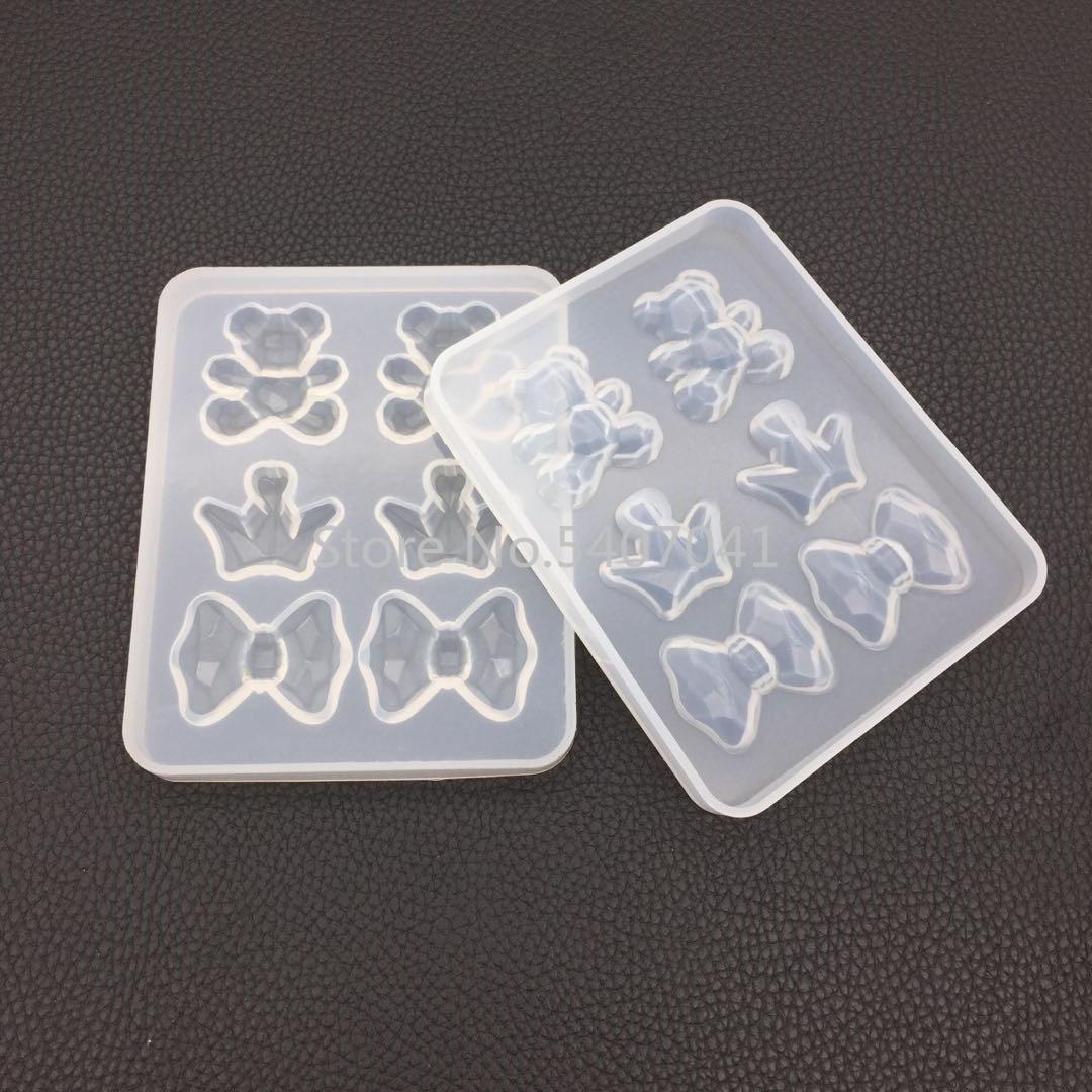 Популярная 1 шт силиконовая форма для торта в форме медведя, формы для выпечки шоколада, посуда для украшения торта, пластырь