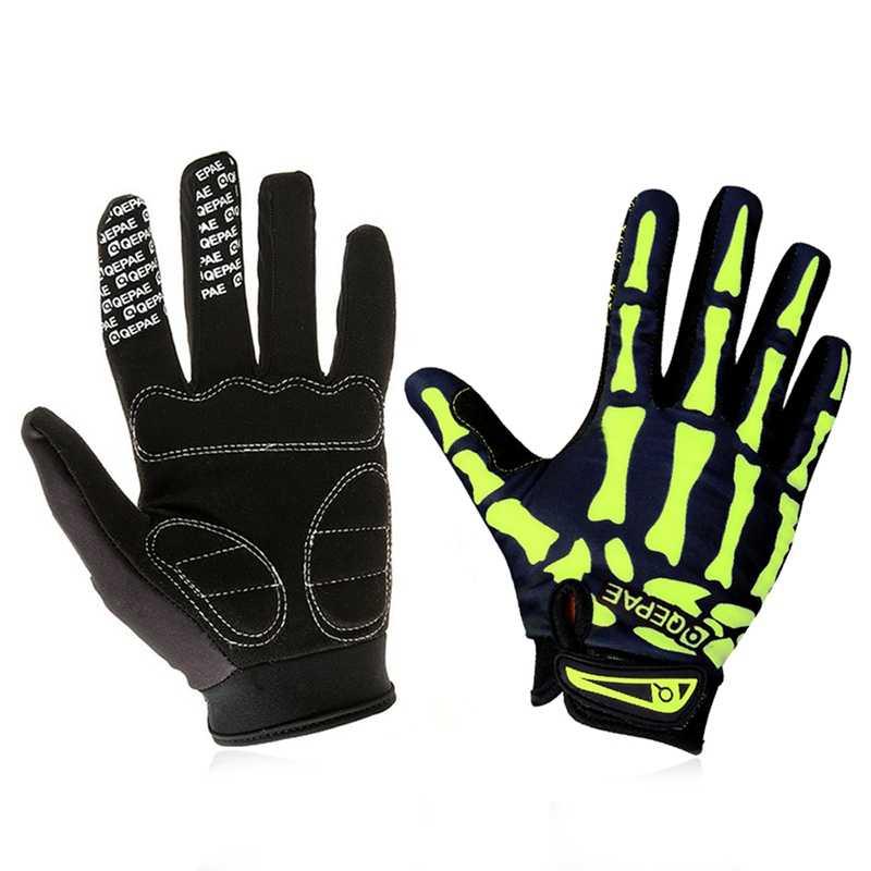 Guanti invernali Qepae a dito pieno per Moto Touch Screen guanti Moto Racing/sci/arrampicata/ciclismo/equitazione Sport guanti da Motocross