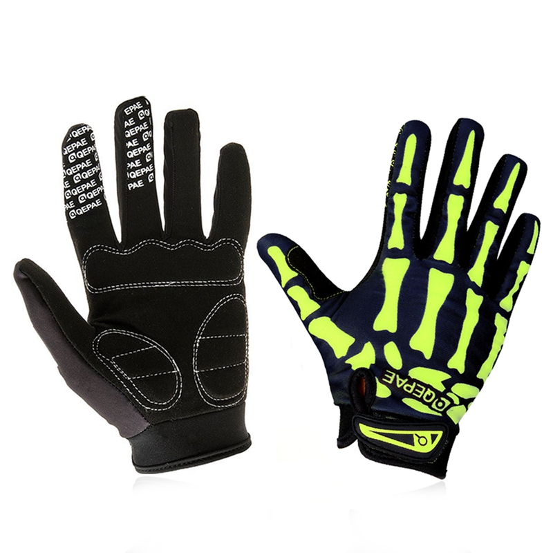 Qepae Full Finger Motorcycle Winter Gloves Screen Touch Guantes Moto Racing//Skii