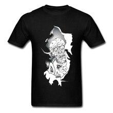 The Walking Dead Zombie Inside Mens T Shirt 100% Cotton Casual T-Shirt 2019 Newest 3D Graphic Brand PC Tshirts Team Tshirt