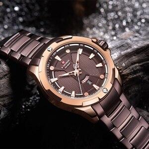 Image 4 - Top Naviforce Heren Horloge Merk Luxe Mode Quartz Mannen Horloges Waterdichte Sport Mannelijke Militaire Polshorloge Relogio Masculino