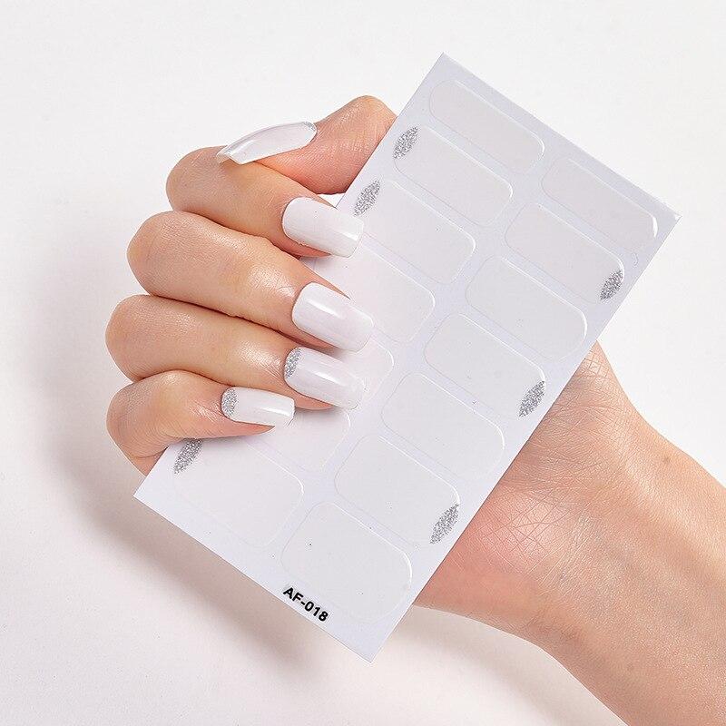 Купить самоклеящиеся наклейки для ногтей стикеры дизайнерские аксессуары