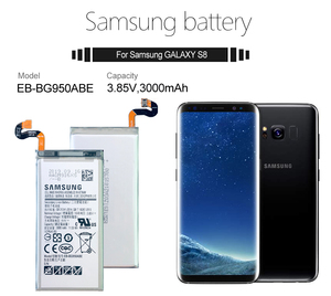 Image 5 - Samsung Original Battery For Galaxy S8 SM G9508 G950F G950A G950T G950U G950V G950S 3000mAh EB BG950ABE Mobile Phone Batteries
