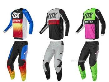 2020 Delicate Fox Motorbike Racing 180 Fyce MX Offroad Jersey Pants Mens Motorcycle Suit