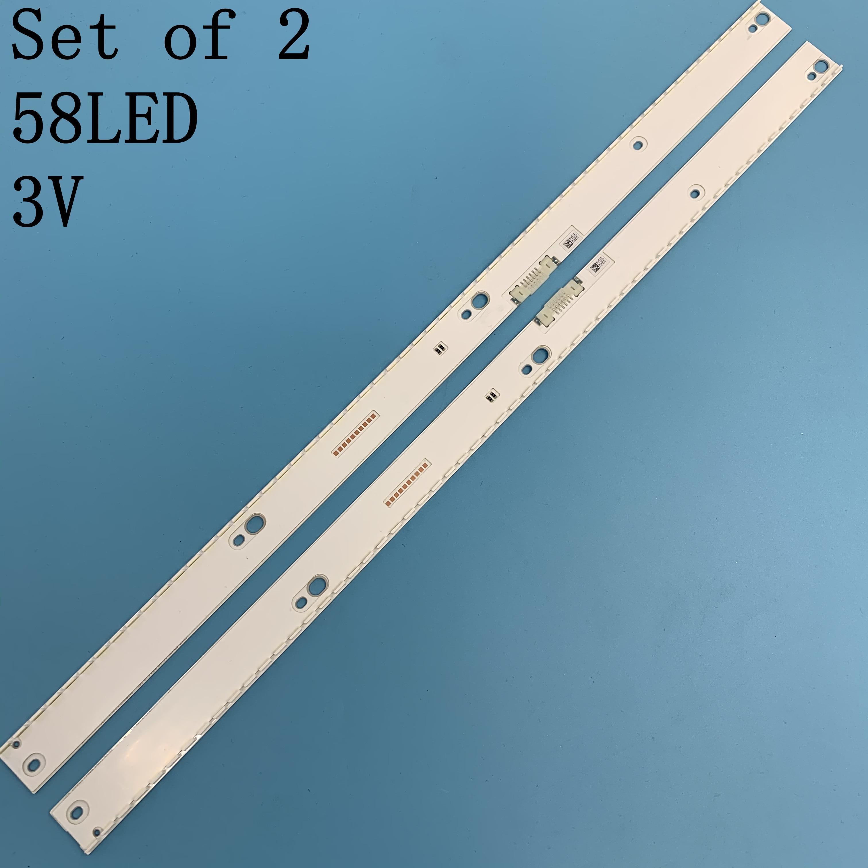 LED Backlight Strip BN96-39673A BN96-39674A For Samsung 49'' TV UE49MU6470 UE49MU6400 UE49KU6510 UE49KU6500 UN49MU7100