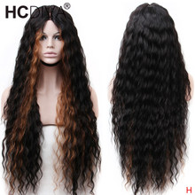 30inch Lace Front Wig 6 inch Deep Part Brazilian Loose Deep