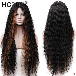 Ombre loira frente do laço perucas de cabelo humano para as mulheres 13*4 perucas da parte dianteira do laço onda do corpo brasileiro peruca dianteira do laço remy cabelo para mulher