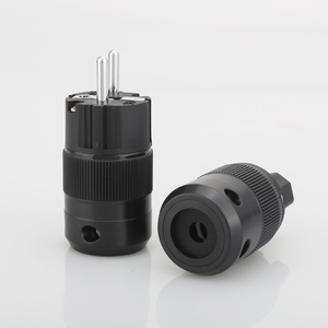 Image 2 - VB0109 High End Rhodium Plated EUR Schuko EU Power Plug & IEC Connector plug