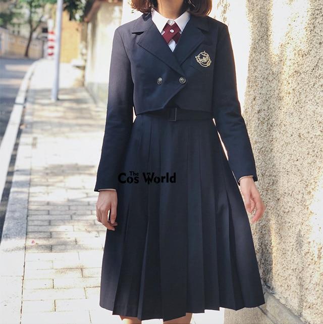 [Seven Deadly Sins] Women JK Suit Blazer Tailored Suit Dress High School Uniform Class Uniform Students Cloths