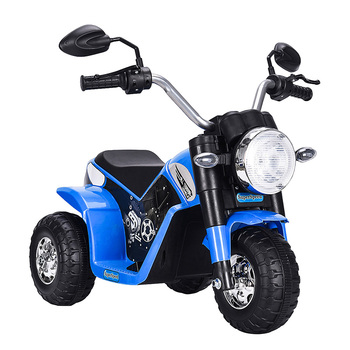 6V Kids Ride On Motorcycle Toy Battery Powered Electric 3 Wheel Bicycle With Headlight Horn Children Outdoor Play Toys BB3179
