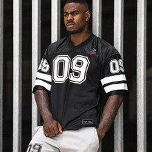 New Clothing Fashion Bodybuilding tShirt Men Breathable Short Sleeve Fitness shi