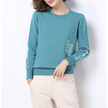 Ljsxls femme chandails 2020 outono inverno moda feminina roupas de manga longa camisola de malha das mulheres pulôveres coreano suéteres