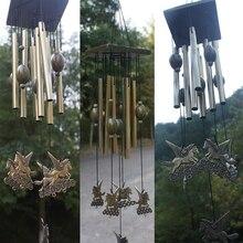 Большие колокольчики алюминиевые трубы Открытый Двор Сад домашний Декор Орнамент