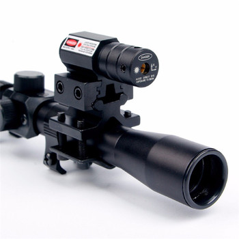 Rail Riflescope Optics Holographic Tactical Red Dot Laser Sight Reflex 4×20 Optics Scope Tactical Riflescope Red Dot Laser Sight