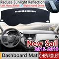 Для Chevrolet Sail 2015 2016 2017 2018 2019 Противоскользящий коврик для приборной панели Защита от солнца Dashmat автомобильные аксессуары новый Nueva Sail 3