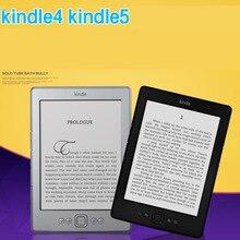 Дешевые Kindle 5 электронная книга с подарочным e-ink дисплеем 6 дюймов электронная книга читатель электронная книга серая читалка 2 Гб Восстановленное Отличное состояние