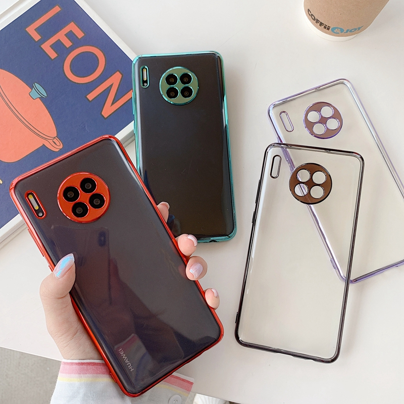 Luxury Clear Case For Huawei P30 Mate 30 Pro Transparent Soft Silicon Coque Cover For Huawei Mate 30 Pro P30pro Mate30 Cases
