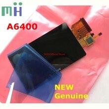 חדש עבור Sony A6400 ILCE 6400 ILCE6400 אלפא ILCE 6400 LCD מסך תצוגת עם מגן חלון זכוכית מצלמה חילוף חלק
